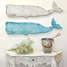 whale wooden silhouettes from suzanne nicoll studio