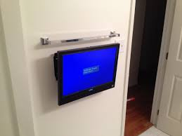 bathroom tv ideas bathroom tv wall mount installation wall mounted tv in the