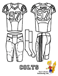 printable colts coloring pages funycoloring
