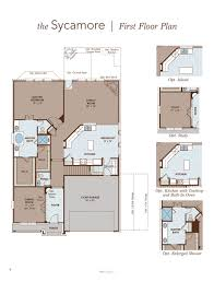 patio floor plans sycamore home plan by gehan homes in alamo ranch u2013 the summit premier