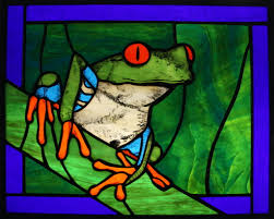 eyed tree frog by jjosryo on deviantart stained glass tree