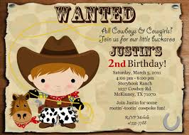 birthday invitation for teenager free cowboy birthday invitations free invitations ideas
