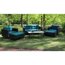 Wicker Patio Furniture Set Wright 6 Wicker Patio Conversation Patio Furniture Set Target