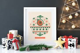 holiday decorations for the home ugly sweater print home christmas decorations biking