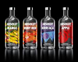 absolut vodka design new packaging for absolut flavored vodka by the brand union bp o
