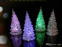mini christmas tree with lights christmas decorations gifts cute mini led christmas tree with light