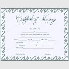 56 best marriage certificate templates images on pinterest