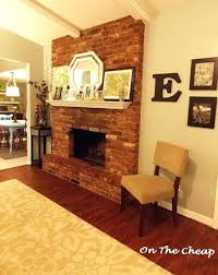 red brick fireplace images painting our white fireplaces mantels