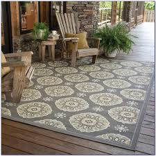 Outdoor Rug Square Bright Durable Square Outdoor Rugs Mats Dfohome Intended For 10x10
