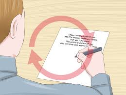 writing a paper about yourself examples how to write a poem with 3 sample poems wikihow