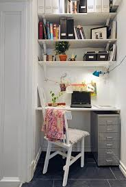 Inspiring Small Office Spaces And What Im Working On Mini - Closet home office design ideas