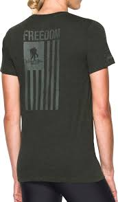 Chicago Flag Apparel Under Armour Women U0027s Wounded Warrior Project Freedom Flag T Shirt