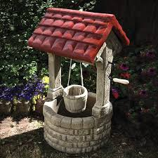 garden ornaments garden wishing well garden ornaments