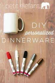 personalized dinnerware how to make personalized dinnerware diy
