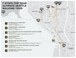 Seattle Tourist Map by 7 Stops For Your Ultimate Seattle Walking Tour Seattle Magazine