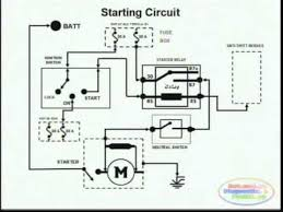 starting system u0026 wiring diagram youtube