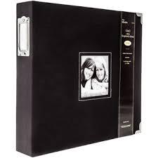 Scrapbook Binder Black Cloth 3 Ring Scrapbook Album 12
