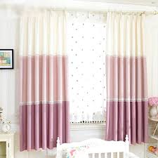 curtains for girls bedroom korean bay window curtains with lace girls room
