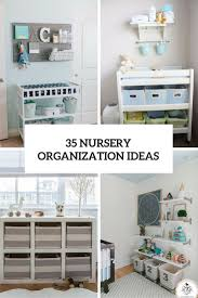 Changing Table Organization 35 Yet Practical Nursery Organization Ideas Digsdigs