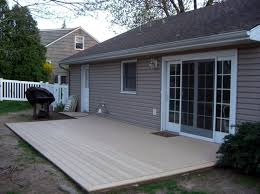 Home Depot Deck Design Gallery Trex Deck Over Cement Composite Decking From Home Depot
