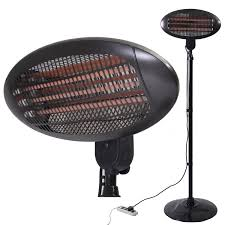Free Standing Patio Heaters by 2kw Garden Patio Heater Quartz Free Standing Outdoor Indoor