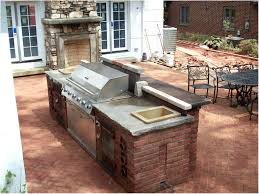 backyards compact brick bbq and smoker plans grill 88 outdoor
