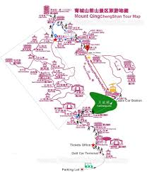 Cable Car Map Mount Qingcheng Tour Map Archives China Chengdu Panda Holding