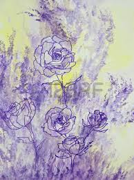 Lavender Roses Pink Yellow Red Peach And Lavender Roses Form A Bouquet In
