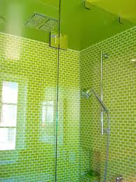 Mint Green Bathroom by Bathroom Design Ideas Shower Green Bathroom Glass Wall Stainless