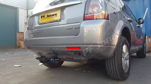 land rover freelander 2006 rover freelander mk2 2006 2015 pf jones detachable towbar