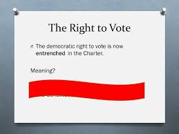 right meaning section 3 4 u0026 5 democratic and mobility rights ppt download
