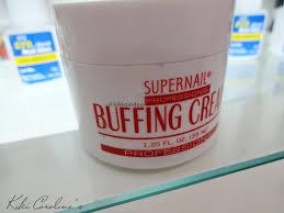 kiki coroline u0027s blog supernail professional buffing cream
