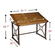 Drafting Table Atlanta Southern Enterprises Brazos Tilt Top Drafting Table 8413420 Hsn