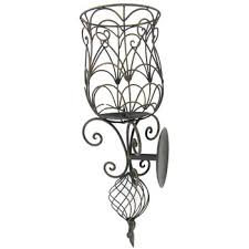 Iron Candle Wall Sconce Iron Scroll Wall Sconce Hobby Lobby 389361
