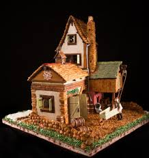 these elaborate gingerbread creations prove that baking is an art