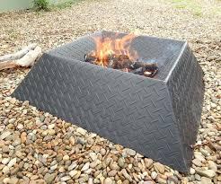 How To Make A Backyard Fire Pit Cheap - diy inexpensive fire pit ideas inexpensive homemade fire pit metal