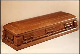 wooden coffin no 3 solid wooden casket with fittings miniature mortuary