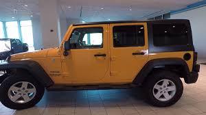 jeep rubicon orange jeep wrangler unlimited for sale