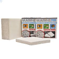 marinepure ceramic biomedia plate bulk reef supply