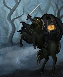 the legend of sleepy hollow headless horseman halloween fall