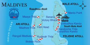 Map Of Maldives Liveaboard Scuba Dive Yachts Vacations U0026 Trips Aggressor Fleet