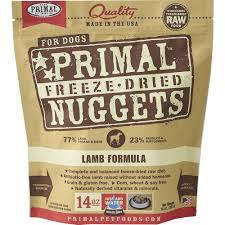 bench field pet foods llc primal freeze dried lamb dog food 14 oz