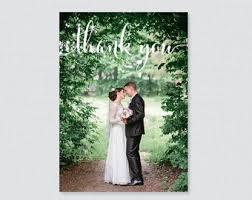 thank you cards wedding wedding thank you cards etsy
