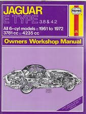 e type jaguar car service u0026 repair manuals ebay