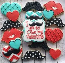 Valentine S Day Sugar Cookies Decorating Ideas by 141 Best Valentine U0027s Day Cookies Images On Pinterest Valentine