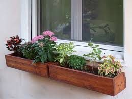 Wooden Window Flower Boxes - wooden flower boxes 10 steps with pictures
