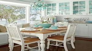 coastal dining room table beautiful small home interiors coastal dining rooms pinterest