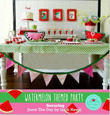 fun watermelon themed summer party ideas inspiration 5 blogs 1