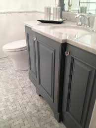 Marble Tile Bathroom Floor Gray Basketweave Floor Tiles Design Ideas