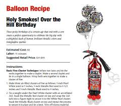 the hill balloon bouquet holy smokes the hill balloon recipe balloon recipes
